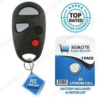 for Nissan Sentra 2000-2004 Upgraded Remote Key fob 315MHZ NHVBU427 28268-4Z400