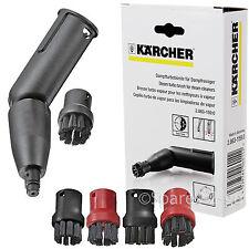 KARCHER SC1 SC2 SC3 SC4 SC5 Steam Cleaner Turbo Brush Nozzle + Brushes 28631590