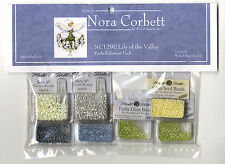 Cross Stitch ~ Mirabilia Embellishment Pack for Lily of the Valley #NC129E
