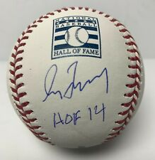 Greg Maddux Signed MLB Baseball MLB Authentic #JD354233 Braves w/ Inscription