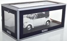 Norev Volkswagen 1303 Cabriolet 1972 blanche 1/18 188524 0120 22