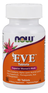 NOW FOODS Eve Superior Women's Multi 90 Softgels FREE WORLDWIDE SHIPPING