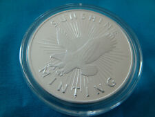 SUNSHINE MINTING SMI 1 TROY OUNCE SILVER EAGLE ROUND.999 FINE-NEW. DF.***$##