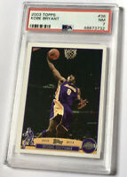 2003 Topps Kobe Bryant #36 PSA 7 - Lebron Rookie Year - HOF