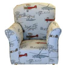Airplane Print Toddler Rocker - Cotton Rocking Chair