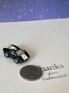 Micro Machines - Lamborghini Countach Black & White (1988) (damaged)