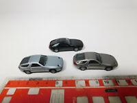 AF157-0,5# 3x Herpa H0/1:87 PKW-Modell Porsche 928S4/ 928 S4, NEUW