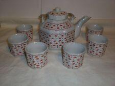 K.G.G. Teeservice für 6 Personen Porzellan Porcelain Chic Vintage 70er °NEU°OVP°