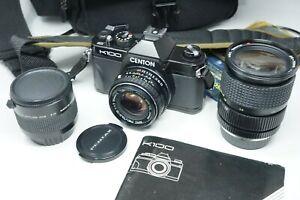 Centon K100 SLR Camera + Pentax 50mm F/1.7 and Tokina 28-70mm