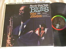 PLAS JOHNSON Mood For The Blues Rene Hall Earl Palmer Red Callender Capitol LP
