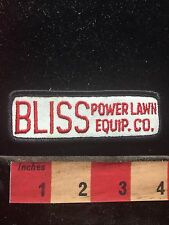 Circa 1980s / 90s BLISS POWER LAWN EQUIPMENT COMPANY Advertising Patch 76WU