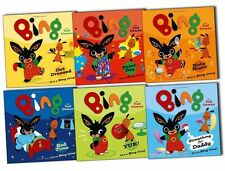 Bing As seen On TV CBeebies 6 Children story Books Collection Pack Set Bing:Yuck