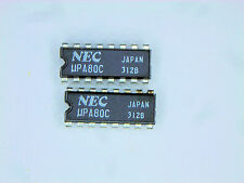 "UPA80C  ""Original"" NEC  16P DIP IC  2  pcs"