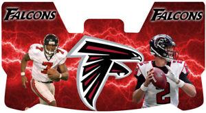 Custom Falcons Younghoe Koo, Matt Ryan Football Helmet Visor, W/ Unbranded Clips