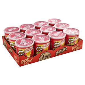 Pringles Pop & Go Travel Box  12 x 40g Original Flavour