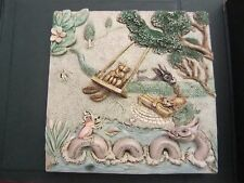Harmony Kingdom Picturesque Swing Time Tile Byron's Secret Garden(4:15N)