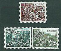 Norway - Mail 1977 Yvert 700/2 MNH