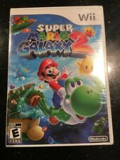 Super Mario Galaxy 2 Wii Brand New Factory Sealed Original Cover