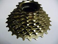 ETC 8 Speed Freewheel (screw on) 13-28T Nickel Bicycle Bike Cycle MTB Gears NEW