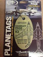 Handley Page Victor K.2 Planetags / Plane Tag - Free Shipping - Walter Soplata
