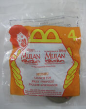 McDonald's Disney Masterpiece Mulan HM - #4 Mushu Launch Toy New in Package 1998