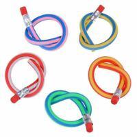 Material escolar para ninos, lapiz suave y flexible, 10 piezas - colores al R5C5