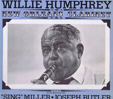 """WILLIE HUMPHREY New Orleans Clarinet Vinyl 12"""" LP-33 Jazz Album EX Stereo 1974"""
