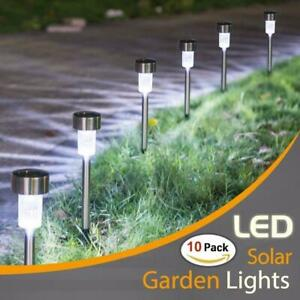 LED Solar Garden Lights Outdoor Solar Powered Lamp Lantern Waterproof