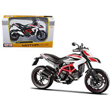 Maisto Ducati Hypermotard SP Bike Motorcycle 1:12 13015 White