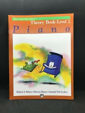 ALFRED'S Basic Piano Library: #2122 Theory Book Piano Level 2