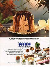 PUBLICITE ADVERTISING  1969   MIKO  glaces CARAIBO