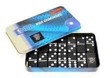 NBA Oklahoma City Thunder Domino Set in Metal Gift Tin