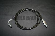 Stainless Steel Clutch Line Black 06-11 Honda Civic Si FA FG