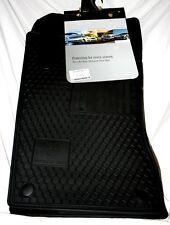 2009 Mercedes Benz E350 4 Door Sedan Factory Accessory Rubber Floor Mats - BLACK