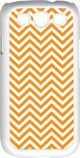 Chevron Orange Designed Samsung Galaxy S3 Case Cover