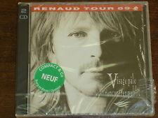 RENAUD Tour 89 Visage pale rencontrer public 2CD NEUF