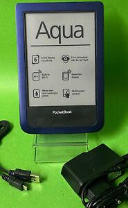 """Pocketbook aqua ( 640 ) - Blau - 4GB E-Book-Reader ebook ereader 6"""""""