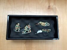 King & Country WW2 IWJ20 Soldiers 4 Pcs New Open Box