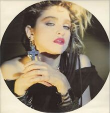 Madonna Holiday Earring Circle sleeve RARE Uk 12""