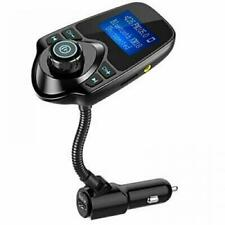 Nulaxy Bluetooth Car FM Transmitter Audio Adapter Receiver Wireless Hands Free