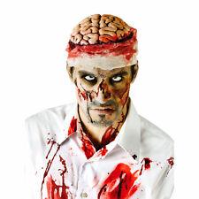 Bloody Brain Zombie Halloween Headpiece Fancy Dress Costume Accessory