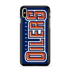 Edmonton Oilers Football Hard Case Cover for iPhone 7 8 Plus X XR XS 11 Pro MAX