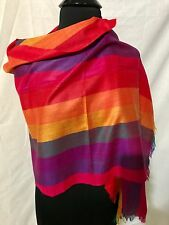 MEXICAN OAXACA REBOZO SHAWL SCARF HUIPIL BELT WIDE HEAD BAND MADE BY HANDS