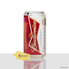 """Beer Case/Cover Apple iPhone 7 (4.7"""") / Screen Protector / Silicone / Budweiser"""