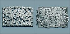 2 PCs 3d Models STL for CNC Router Engraver Machine Relief Artcam 0143 0145