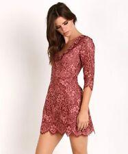 NWT $246 For Love & Lemons Theodora Mini Dress (XS) SOLD OUT! Cutout Back