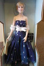 "Franklin Mint Princess Diana Doll ENCHANTMENT Porcelain 17"" Pristine"