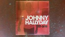 JOHNNY HALLYDAY - 20 ANS-VINYLE ROUGE 25 CM - Edition Collector Disquaire Day