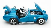 1966 SHELBY COBRA SUPER SNAKE BLUE 1:18 DIECAST MODEL SHELBY COLLECTIBLES SC125