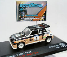 RENAULT 5 MAXI TURBO #1 CHATRIOT RALLYE VAR 1986 1/43 ALTAYA